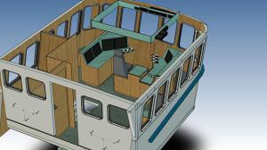 3D tekening - Jacht-en Scheepstimmerbedrijf Schrier