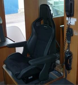 Te leveren producten - Stuurstoel