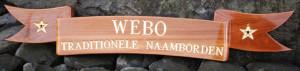 Te leveren producten - Webo Naamborden